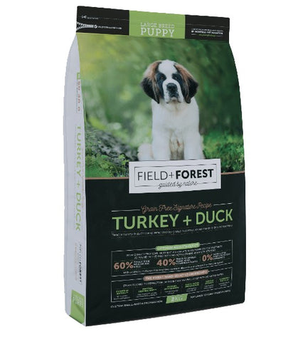 Field And Forest Lb Puppy Turkey + Duck