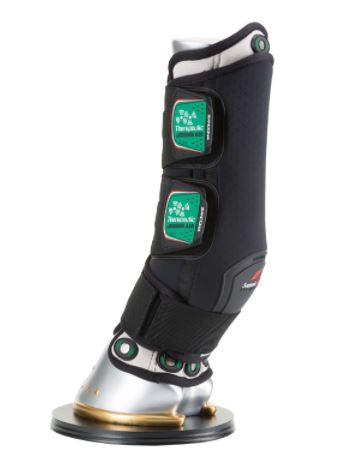 M Black Therapeutic Front Support Boot