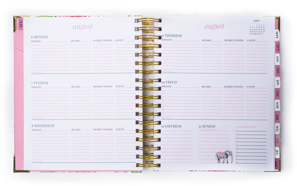 Prep Avenue Planners Weekly Layout