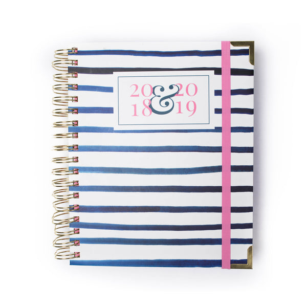 Prep Avenue Planner Preppy Stripes