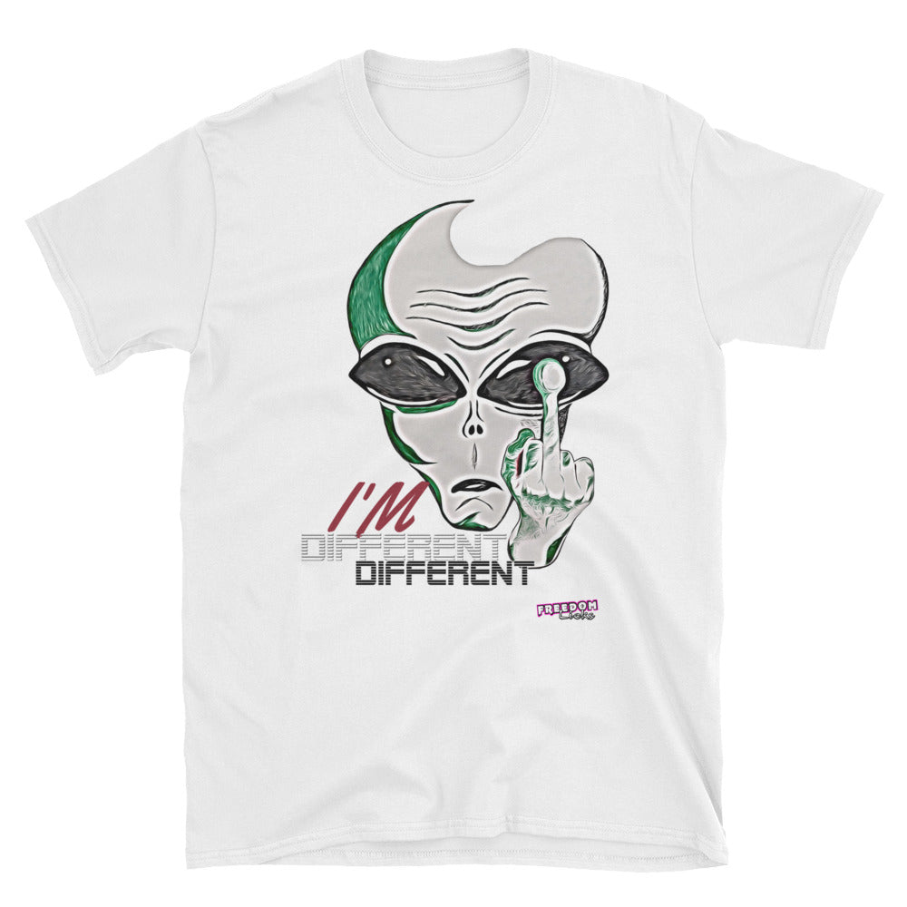 I'm Different White Tee