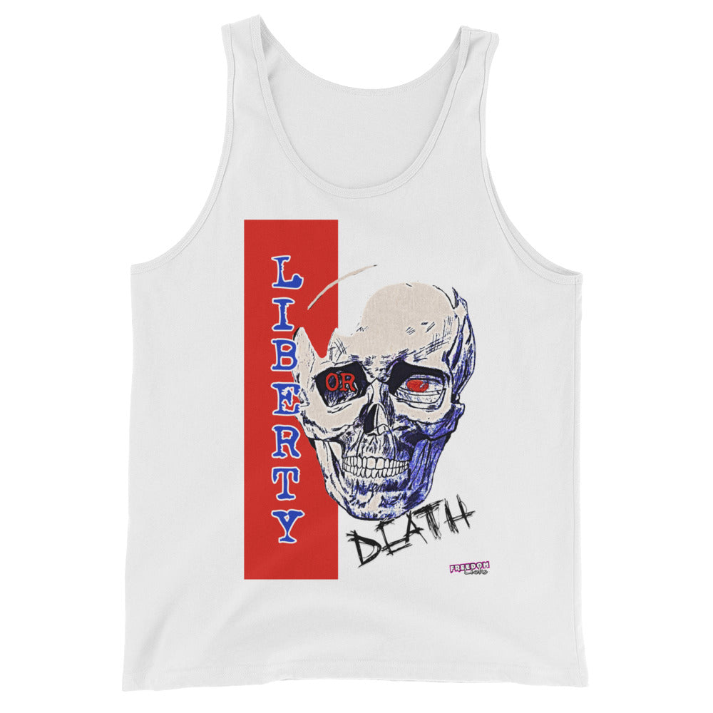 Liberty or Death White Tank