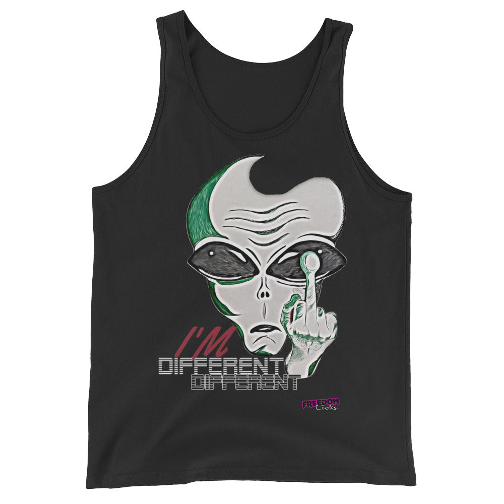 I'm Different Black Tank