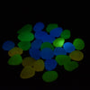 Image of 100pcs/bag Luminous Pebbles Stones Glow
