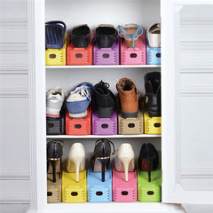 Double Deck Shoe Rack