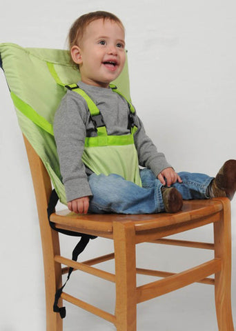 Safety Seat Belt Feeding High Chair