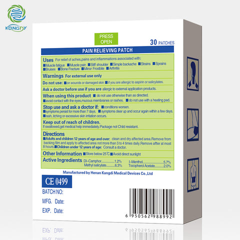 Pain Relief Plaster