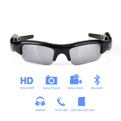 Wide Angle Sunglasses Camera
