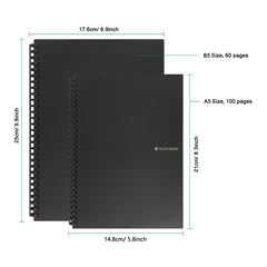 Reusable Smart Wirebound Notebook