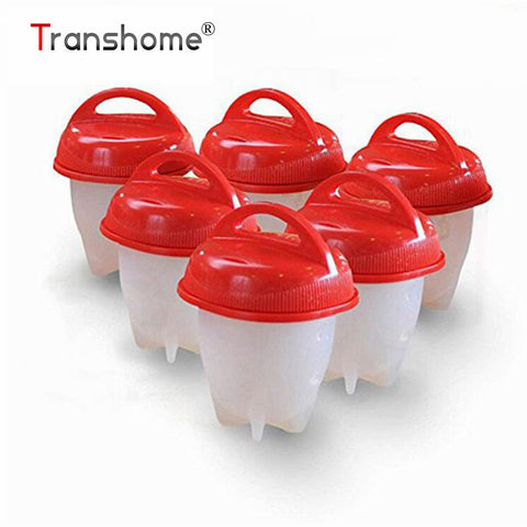 6pcs Silicone Egg Cooker