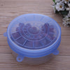 Image of 6pcs Silicone Suction Lid-bowl
