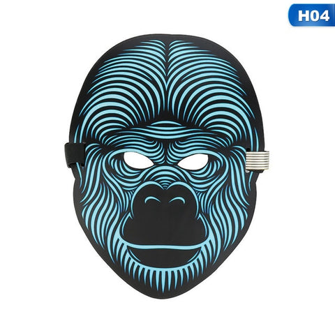 Sound Activated LED Mask
