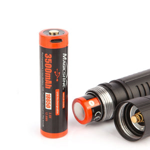 Magicshine® Customized 18650 Lithium Battery Cell MAS18-3500R