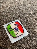 Fiat 500 Gel Badges Italian Flag (Steering wheel only)