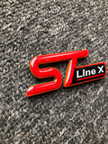 ST Line X Badge with Gel