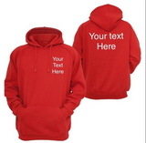 Adults Personalised Hoodies