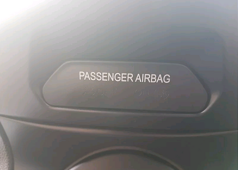 Fiesta Airbag Gel Badge