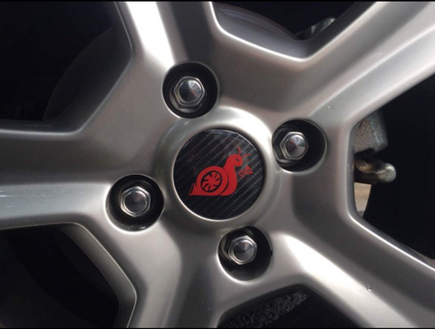 * Carbon Turbo Snail Wheel Centres with either Chrome or Glitter Turbo Snails
