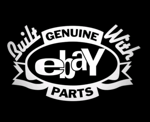 Genuine Ebay parts Decal