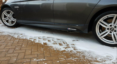 BMW M Performance Side Skirt Decals