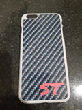 Carbon Effect Phone case with initials