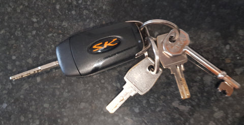 Ford Car Key Gel