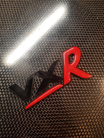 Vxr Badge with Gel