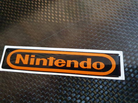Nintendo Novelty Gel badge