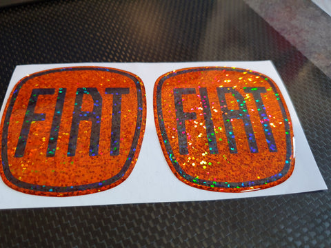 Fiat 500 Gel badges
