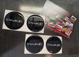 Custom Wheel Centre Badges x