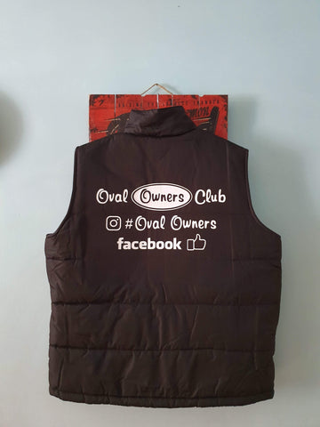 Oval Owners Club Bodywarmer