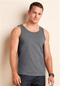 Mens PersonalisedRingspun Softstyle Vest