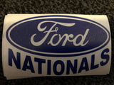 Ford Nationals Car Decal