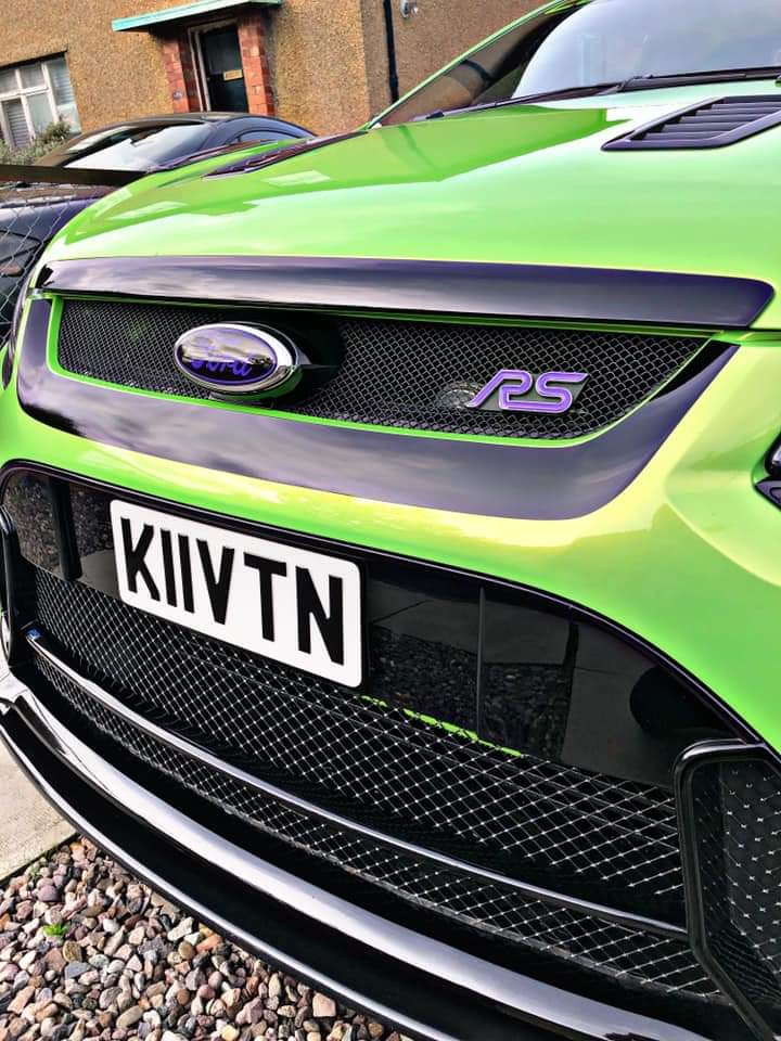 Focus Mk2 Rs Lower Grill Vinyl