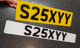 4D Skinny Plates (NOT ROAD LEGAL)