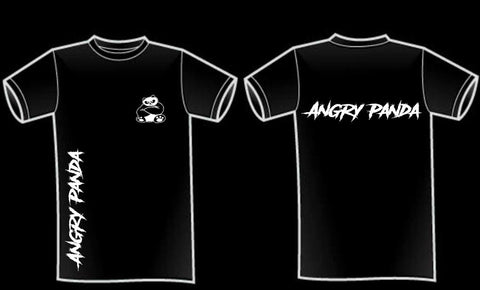 Angry Panda Male T-Shirt (Adults)