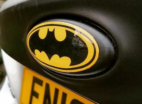 Ford Batman Gel Badge Set