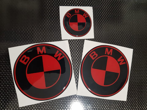 BMW Custom Gel Badges