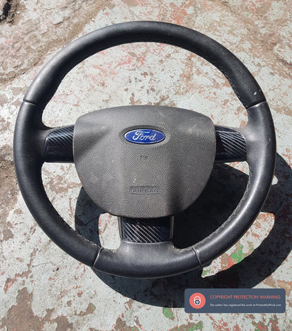 Ford Focus Mk2 Steering wheel Gel Trims