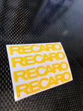 Recaro Seat Gel Inlays x 4