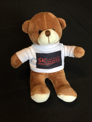 SK graphics teddy bear