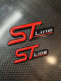 ST Line Badge with Gel