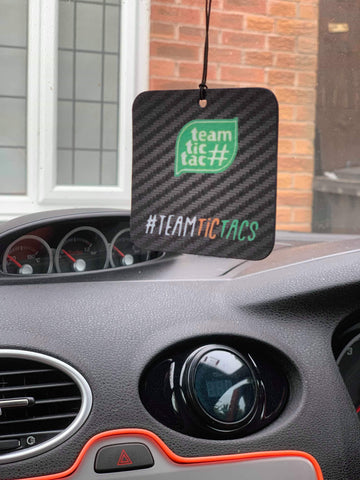 #Teamtictacs Air Freshener