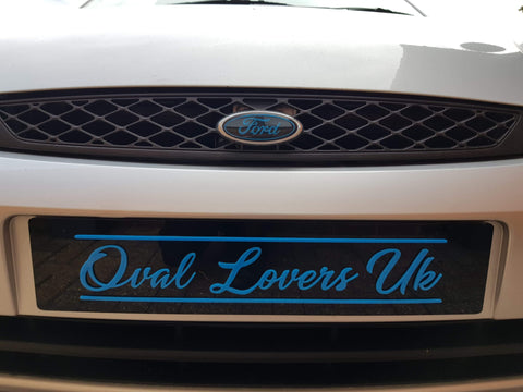 Oval Lovers UK Laser Cut Show Plates
