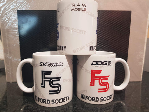 Ford Society Club Mug