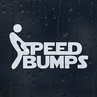 Speed Bumps Decal