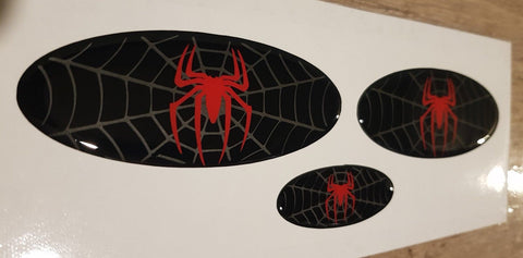 Spider Gel Badges