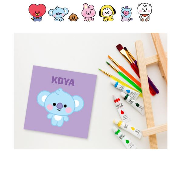 BT21 DIY OIL PAINTING_BABY Series(S) (BABY) B