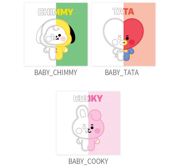 BT21 DIY OIL PAINTING_BABY Series(S) (BABY) D