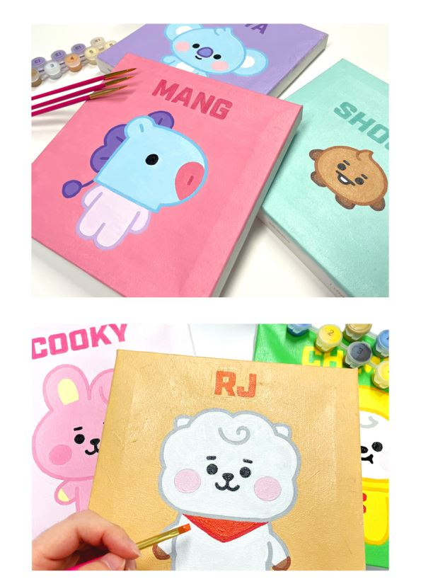 BT21 DIY OIL PAINTING_BABY Series(S) (BABY) F